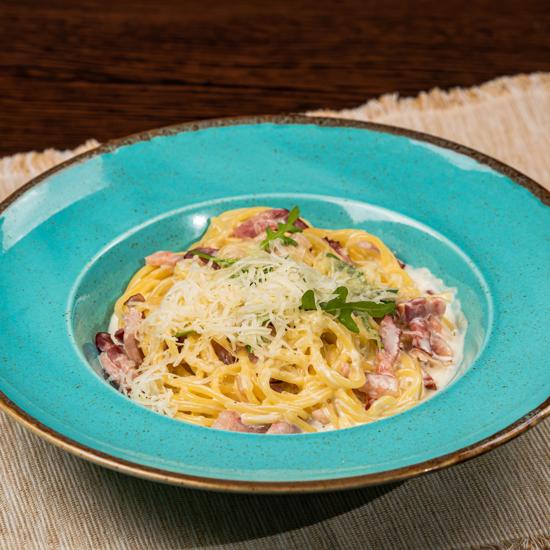 Poza cu Spaghetti Carbonara
