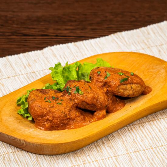 Poza cu Chfteluțe de soia cu sos tomat