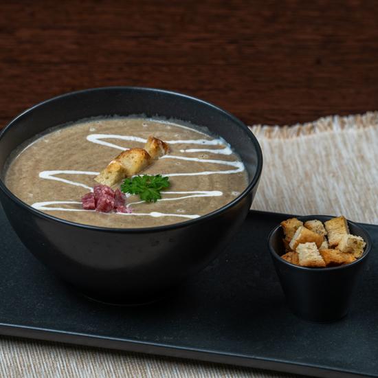 Poza cu Supă cremă de linte