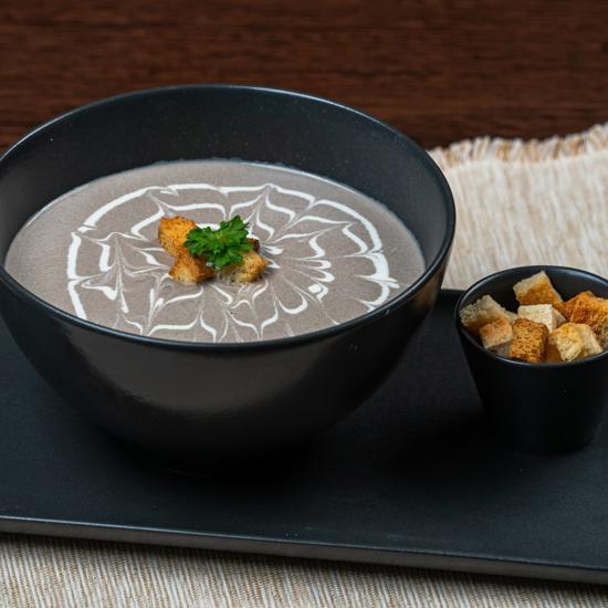 Poza cu Supă cremă de ciuperci